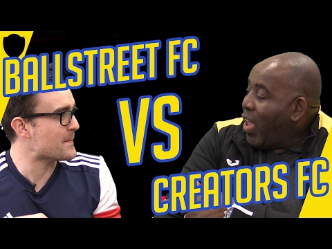 ARSENAL FAN TV ROBBIE STORMS OUT OF AJ3 PRESS CONFERENCE | CREATORS FC V BALL STREET