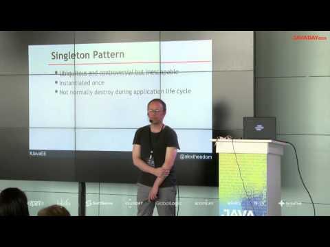 JavaDay Lviv 2015: Java EE changes design pattern implementation,  Alex Theedom