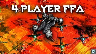 [Red Alert 3 : Uprising] 4 Player FFA