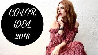 TENDENCIAS: COLOR DEL 2018/Primavera Verano/PANTONE