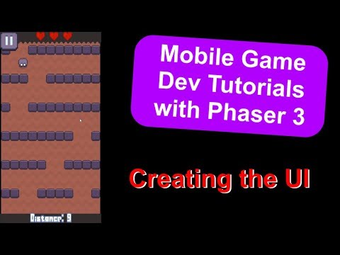 'Endless Cave' Ep. 15: User Interface (UI) | Phaser 3 Game Dev Tutorial thumbnail