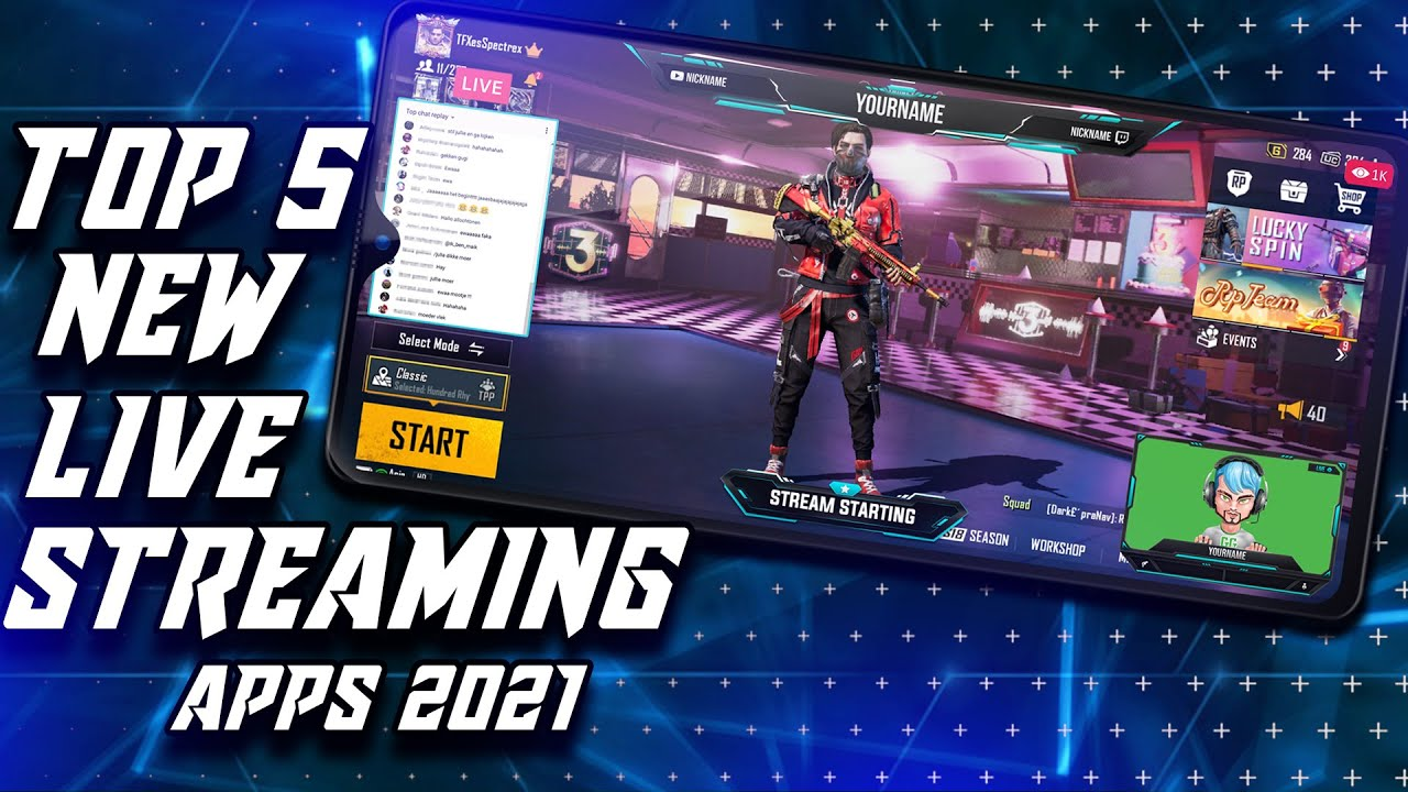 TOP 5 BEST Live Streaming Apps For Android Phones 2021