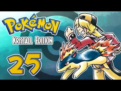 Let's Play Pokémon Kristall Edition [German][#25] - Ab ins Wasser!