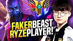 Faker is a Beast with Ryze! - When Faker Picks Ryze Mid! | SKT T1 Replays
