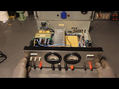 Lab Power Supply from Broken Audio Amp + Buck and Boost Converters