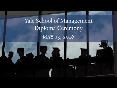 Yale School Of Management Diploma Ceremony