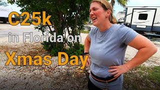 Trying the 'couch to 5k' challenge over Christmas in the Florida Keys in winter