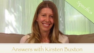 Using Specifics—Guidance & Holy Spirit with ACIM Kirsten Buxton A Course in Miracles
