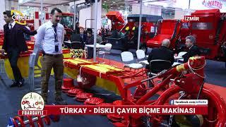 Türkay - Diskli Çayır Biçme Makinası- AgroExpo İzmir Fuar / Çiftçi Tv