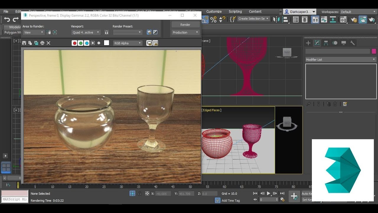3DS Max Arnold Glass Material Tutorial
