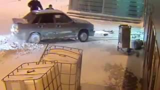 Шоу Бенни Хилла, по мотивам погони в аэропорту Казани