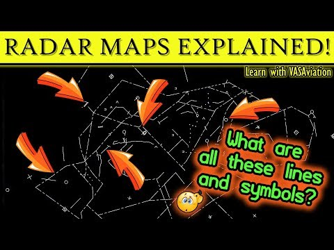 ATC RADAR MAPS EXPLAINED - What information do they provide?