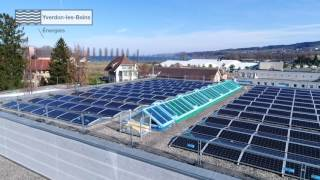 SWISS-FLY | Centrale photovoltaïque de la Marive | Yverdon-les-Bains | Boris Bron