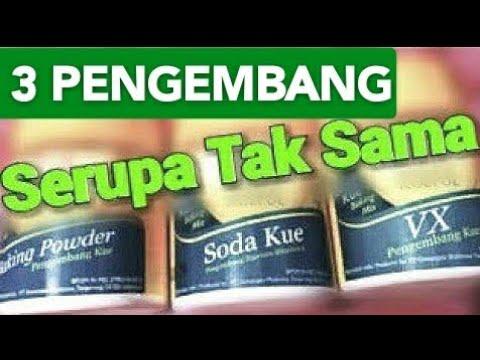 Perbedaan Baking Soda Soda Kue Vx