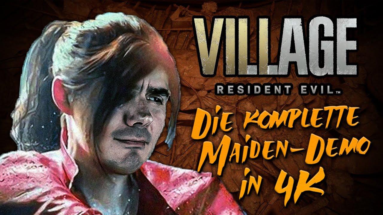 LET'S PLAY Resident Evil Village MAIDEN in 4K // KOMPLETT 💿 Step on me, Lady Dimitrescu! (Deutsch)