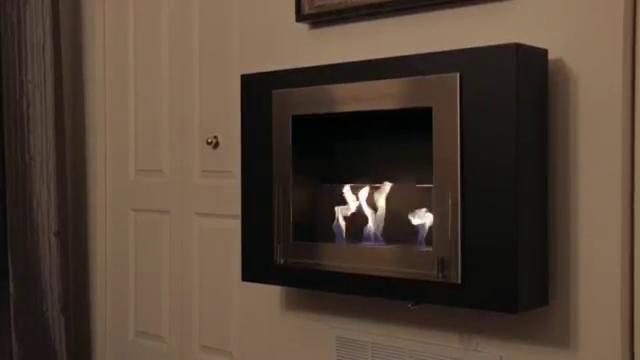 burner black fireplace insert ignis products ethanol