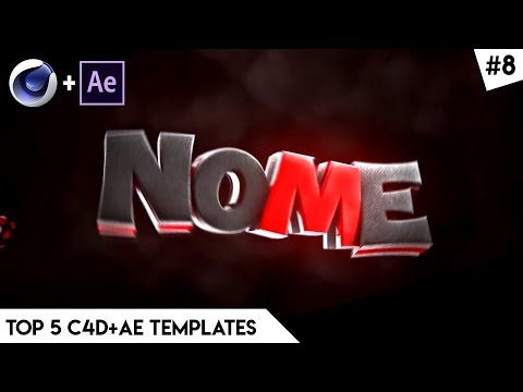 TOP 5 Intro Templates - Cinema 4D & After Effects | Free Download | FAST RENDER | Intro Template