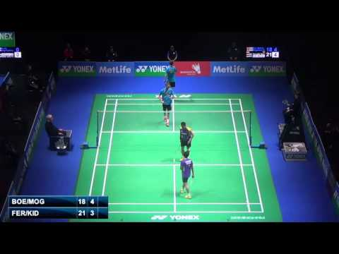 R16 - MD - G.M.Fernaldi / M.Kido vs M.Boe / C.Mogensen - 2014 All England Badminton Open (F 4-7)