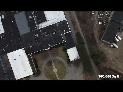 Kingsbury Machine Tool Company Keene NH Drone Footage 2018