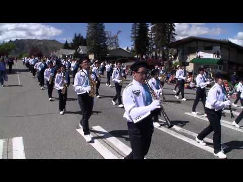 Harbour Pointe Middle School Marching Band 2014