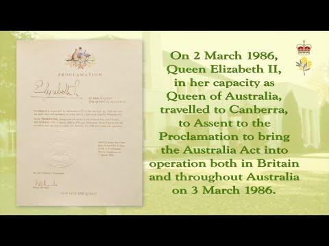 10 V4 Australia Act 1986