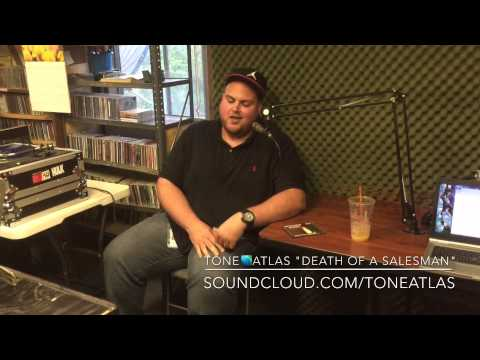 Tone Atlas LIVE 87.7FM 321 Hip Hop Radio interview w/ Our Reality & DJ Tes
