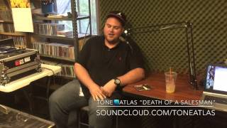Tone Atlas LIVE 87.7FM 321 Hip Hop Radio interview w/ Our Reality & DJ Tes