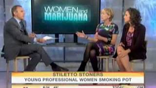 Stiletto Stoners - Women Who Smoke Pot  NBC - Beverly Hills Cannabis Club