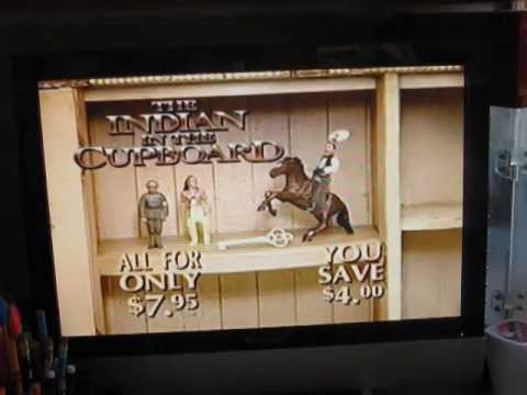 The Indian In The Cupboard 1995 Vhs Previews Part 2 Youtube