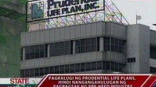 Sona: Pagkalugi Ng Prudential Life Plans, 'di Nangangahulugan Ng Pagbagsak Ng Pre-need Industry