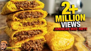 HOW TO MAKE JAMAICAN BEEF PATTIES | Meat Pie | Street Food | Step By Step To PERFECTION