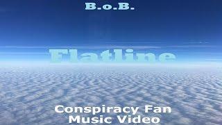 B.o.B. Flatline - Conspiracy Fan Music Video - Flat Earth - Mark Sargent ✅
