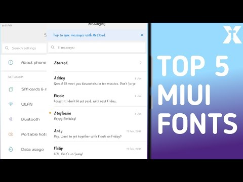 Top 5 Miui Fonts That Will Make Your Phone Look Awesome | Hindi