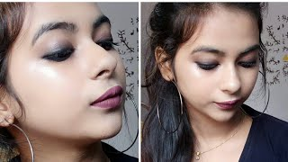Classic smokey Eyes (2 Minutes ) With Kajal || Stay Quirky Badass Kajal | How to do smokey eyes look