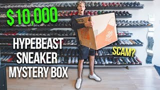 Unboxing A $10,000 Sneaker Mystery Box...
