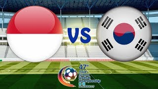 INDONESIA PELAJAR U-18 VS KOREA U-18   47th AFSC U-18/2019
