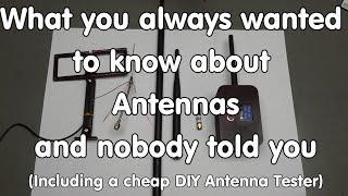 #188 Antenna Tutorial incl. cheap DIY Antenna Tester (LoRa, ESP32)