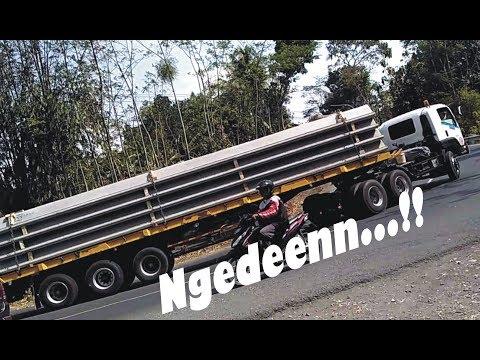 Truk Trailer ISUZU, FUSO, HINO, Truck Gandeng UD Ngeden | Tanjakan EKSTRIM vs Skill Sopir TRUK