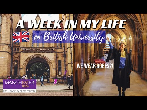 A Week In My Life At University Of Manchester || Semester Exchange