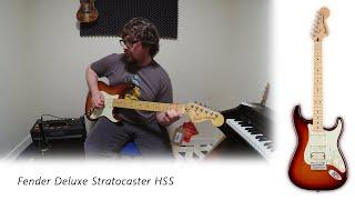 Fender Deluxe Strat HSS review