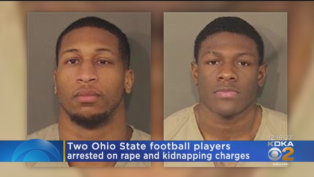 2 Ohio State Football Players Arrested Youtube