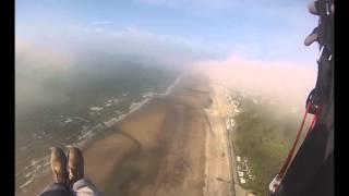 Parapente à Villers dans la brume