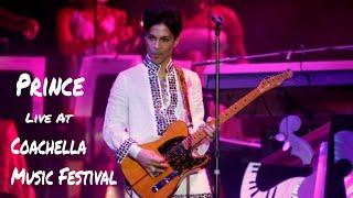 Prince Live at Coachella Music Festival on April 26, 2008