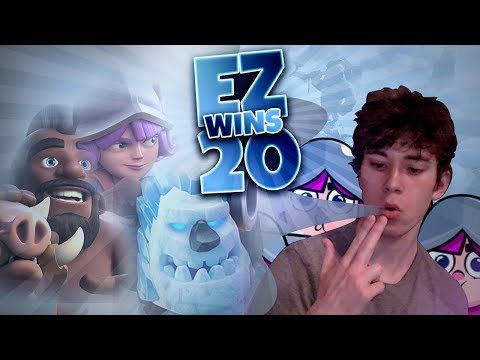 I GOT 20 WINS WITH 2 6 HOG CYCLE! LIVE GAME PLAY! Clash Royale
