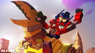 Angry Birds Transformers: New Map New Character Galvatron Discover