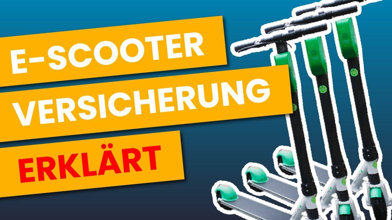 E Scooter Versicherung Online Abschließen Versicherungs Aufkleber Und Mehr