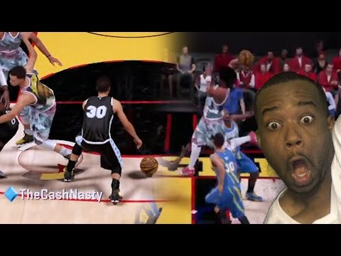 STEPHEN CURRY CROSSOVER 3! VS BEST DUNK OF THE YEAR! NBA 2k16 MyTeam Gameplay RAGE Warrior Fan