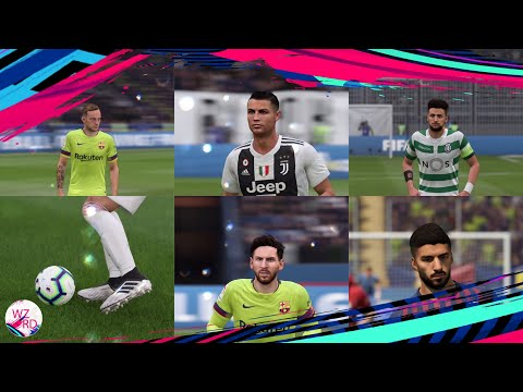 DOWNLOAD WZRDs FIFA 19 FACE+BOOTs+KITs+TATTOO PACK V4 AIO
