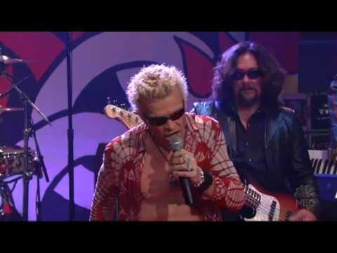 Billy Idol - Scream Live On Leno 03 24 05