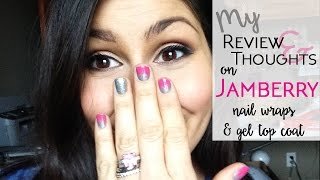 My Review and Thoughts on Jamberry Nails and Trushine Gel Topcoat